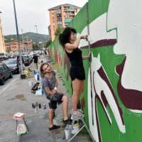 Torino, un'intera strada per dar sfogo alla street art