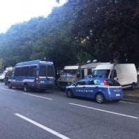 Corso Corsica, smantellato dalla polizia il