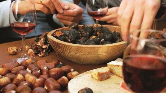 Dalla gita nei boschi alla tavola, con le castagne il benessere è in famiglia