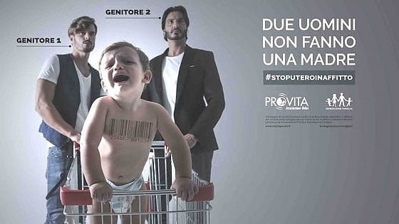 Campagna choc contro le coppie gay con figli, Appendino repl