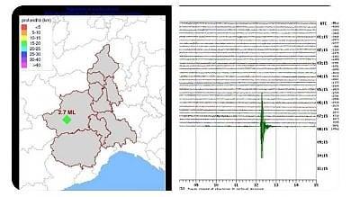 Terremoto in val Sangone e nel Pinerolese, epicentro a Coazze, nessun danno