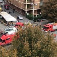 Fuga di gas, evacuato il mercato rionale a Cascine Vica