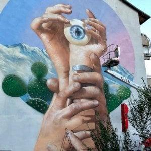 Torino, un murale per l'ingegnere siciliano morto a gennaio sulle piste del Sestriere