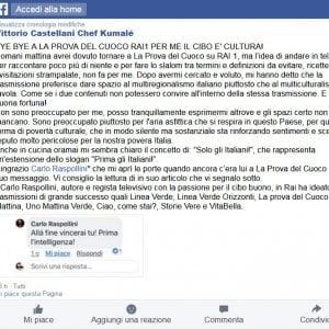 """Chef Kumalé lascia la Prova del Cuoco: """"Anche in cucina vince lo slogan 'Solo gli italiani"""""""