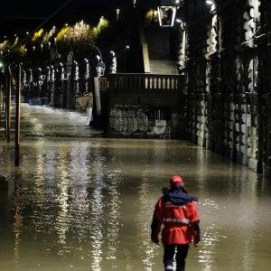 Piemonte, tregua nel maltempo, cala il livello dei fiumi , una frazione ancora isolata in Val Susa