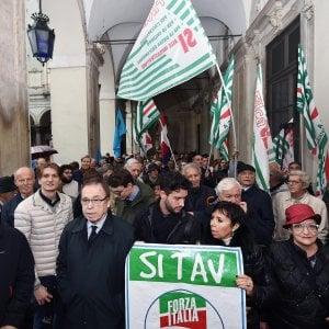 La manifestazione Sì Tav si farà in piazza Castello ma davanti al palazzo della Regione