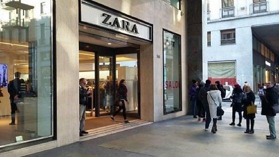 """Torino, proiettile calibro 9 nei camerini di """"Zara"""" in via Roma: i carabinieri indagano"""