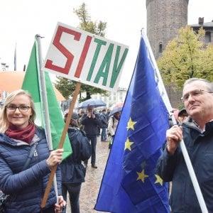 """Torino, niente pioggia per la manifestazione """"Sì Tav"""" di domani"""