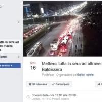 Torino, l'ingorgone di piazza Baldissera diventa un evento social