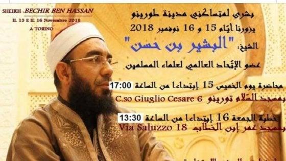 Doppio sermone a Torino dell'imam tunisino che approvò la strage di Charlie Hebdo