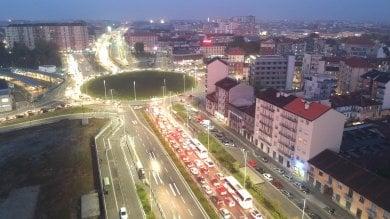 Il grande ingorgo di piazza Baldissera, l'assessora Lapietra: non mi dimetto            Foto