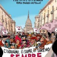 La Mole e i No Tav, il manifesto di Zerocalcare per il corteo dell'8 dicembre