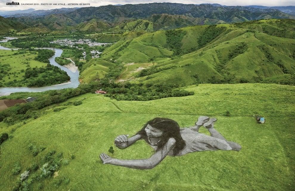 Calendario Lavazza 2019, buone notizie dalla Terra: la Natura diventa un'opera d'arte