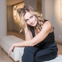 L'attrice Lucia Mascino madrina