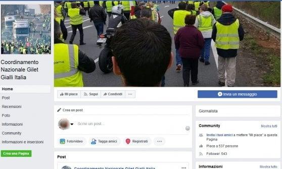 """Gilet gialli anche in Italia, nasce il coordinamento a Torino: """"Siamo contro l'Europa, non contro il governo"""""""