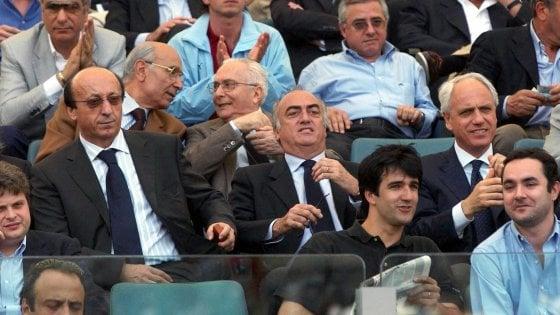 Juve, assolti in appello dopo 9 anni Moggi, Giraudo e Bettega dal falso in bilancio