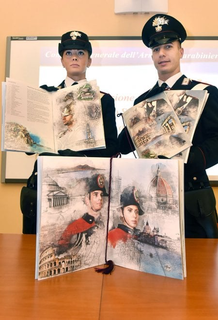 C'è anche la bellezza industriale di Ivrea nel Calendario 2019 dei carabinieri