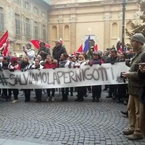 Novi Ligure, corteo per salvare la Pernigotti con il presidente regionale Chiamparino