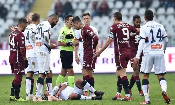Torino-Genoa 2-1, Ansaldi e Belotti ribaltano i rossoblù