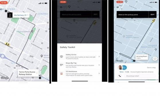 """Uber Taxi parte da Torino, oggi alle 8 prima corsa. Mano tesa ai tassisti dopo le proteste: """"Saremo partner leali"""""""