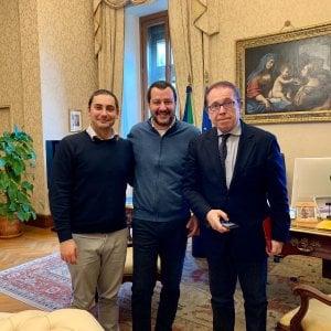 E Salvini riceve al Viminale il promotore della petizione online da centomila sì alla Tav