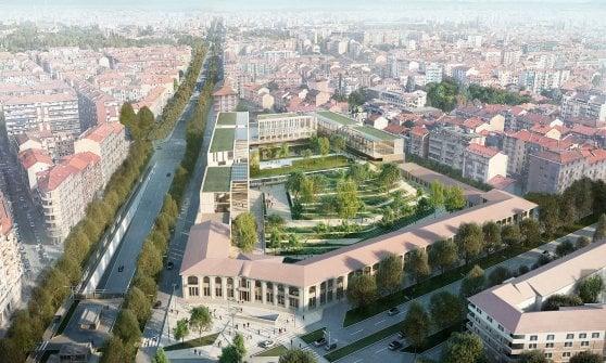 Torino, nuova vita per la caserma di piazza Rivoli: ecco come sarà