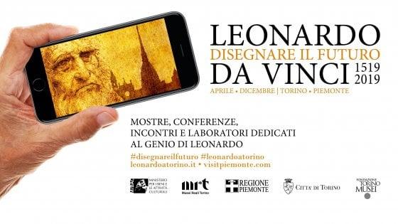 Leonardo, dall'Autoritratto al selfie: così Torino celebrerà i 500 anni dalla morte del Maestro