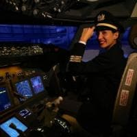 A Torino ai comandi di un Boeing 737: s'inaugura un