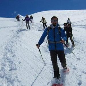 Neve, neve, neve: parte nel Gran Paradiso la bianca stagione delle ciaspole