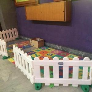 Torino, uno spazio giochi per i bambini in chiesa durante la messa