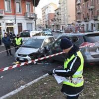 Torino, carambola al semaforo, muore sessantenne