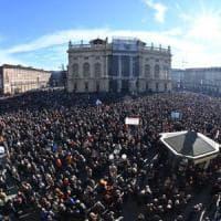 Sì Tav, trentamila in piazza  per la manifestazione bis a favore della Torino-Lione