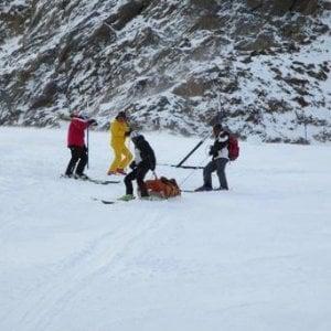 Val d'Aosta due ragazzi in rianimazione dopo le cadute sulle piste di sci