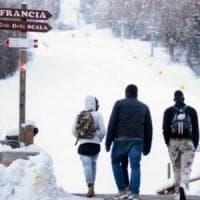 Claviere, salvati dalla Gendarmerie tre migranti smarritisi per ore nella