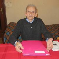 Cuneo, don Daniele, 99 anni, parroco più vecchio d'Italia, vuole incontrare