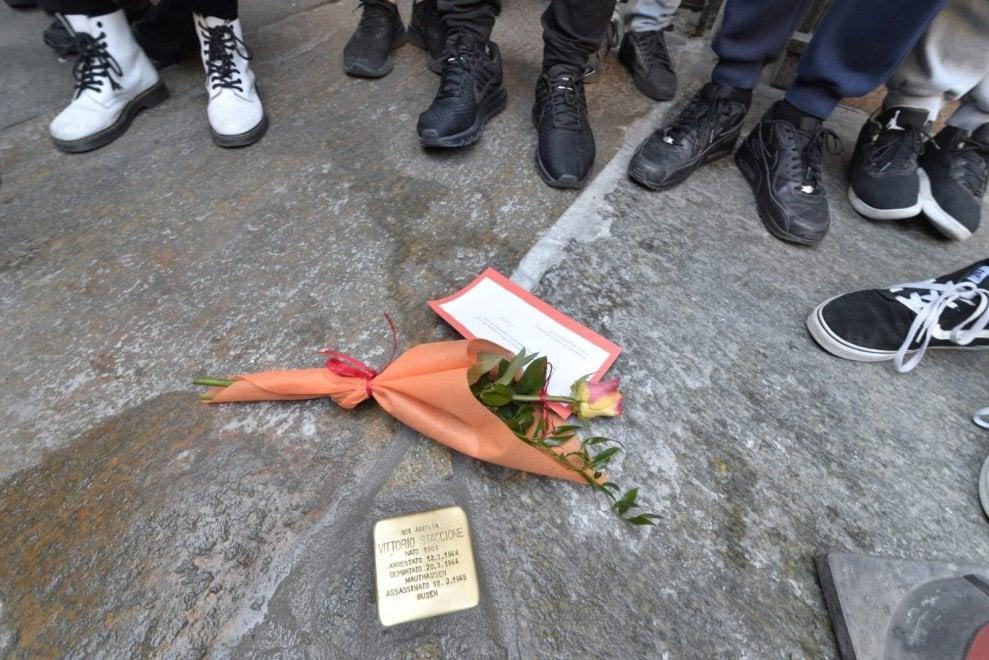 """Una """"pietra d'inciampo"""" per il mediano granata deportato"""