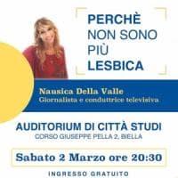 """""""Sono guarita e non sono più lesbica"""". Polemiche a Biella per l'incontro con la ..."""