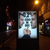 Torino, torna il Banksy della Mole: manifesto fake in via Garibaldi contro