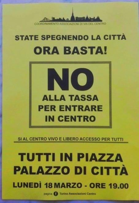 Mille vetrine per sfidare la sindaca sulla rivoluzione nel traffico di Torino