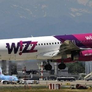 Caselle, Wizz Air fa rotta su Cracovia e porta a tre i voli su Bucarest