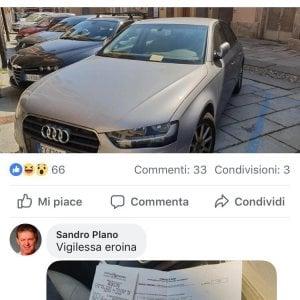 Susa, il sindaco No Tav parcheggia senza pagare, prende la multa ed elogia i vigili