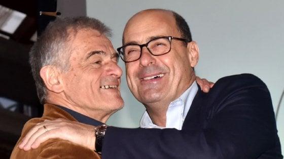 """Zingaretti a Torino per sostenere Chiamparino: """"Il Pd da solo non basta"""""""
