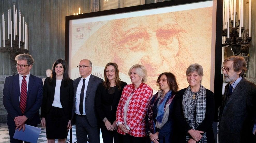 Riecco l'Autoritratto di Leonardo, in mostra a Torino fino al 14 luglio
