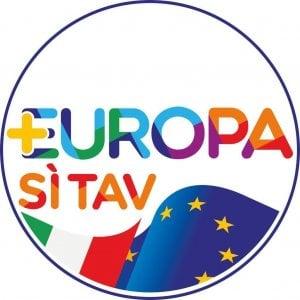 """Elezioni in Piemonte, nel simbolo di +Europa spunta il logo """"Sì Tav"""""""