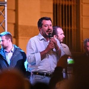 Danno del fascista a Salvini durante un comizio a Torino: denunciate per vilipendio