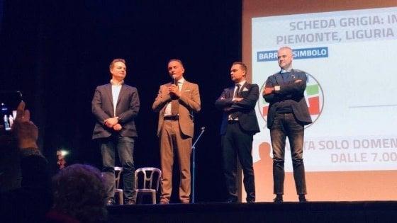 Elezioni in Piemonte, la convention che imbarazza Cirio: sul palco con arrestato per tangenti