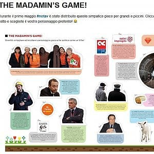 """I No Tav lanciano """"The Madamin's Game"""", il gioco ironico sugli oppositori del tunnel"""