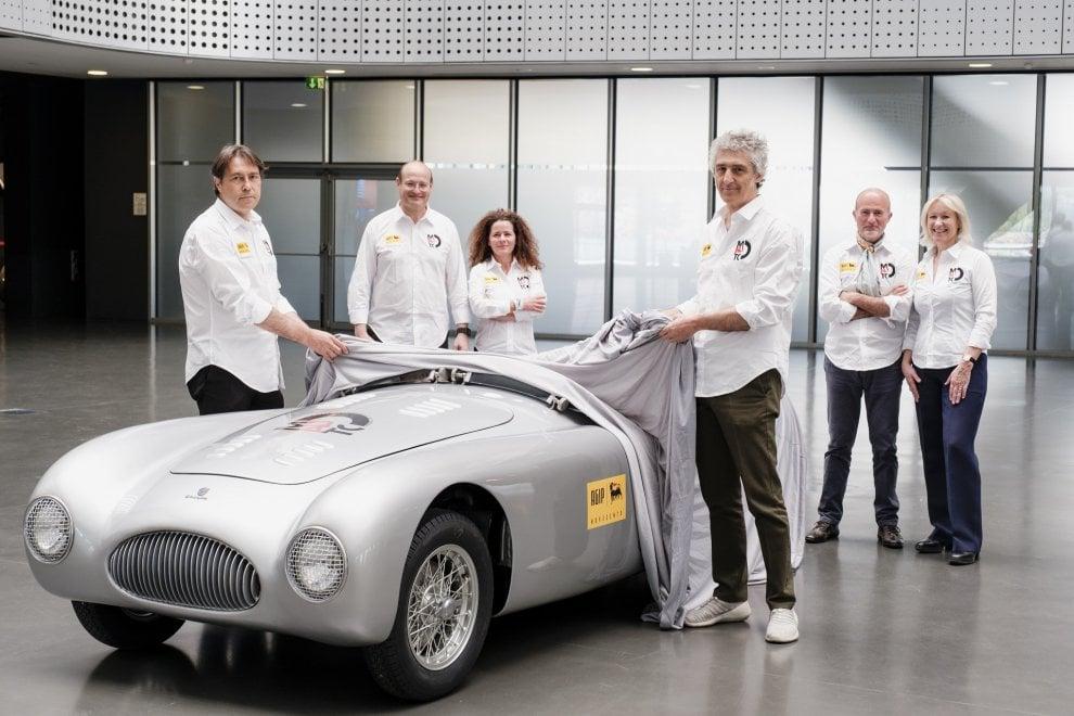 La Cisitalia spyder di Nuvolari del 1947 torna a correre la Mille Miglia