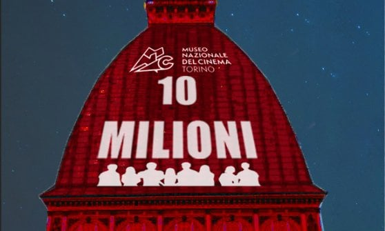 """Dieci milioni di visitatori alla Mole: per lui un """"bigliettone"""" come il signor Bonaventura"""