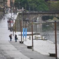 Il Po a Torino cresciuto di oltre un metro per effetto delle piogge